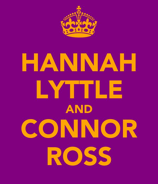 HANNAH LYTTLE AND CONNOR ROSS