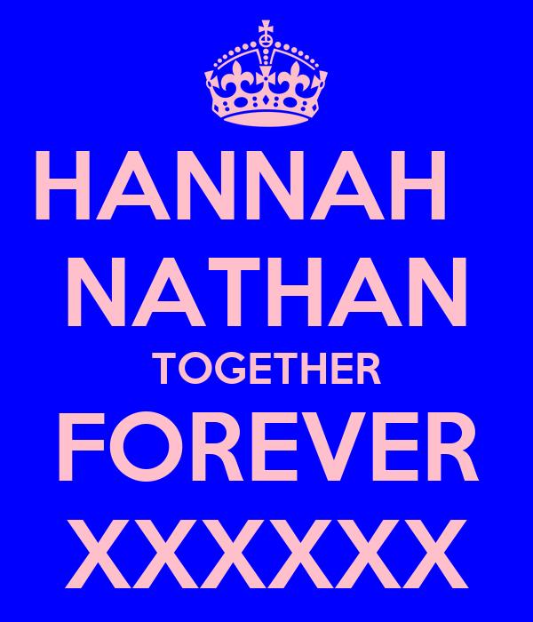 HANNAH   NATHAN TOGETHER FOREVER XXXXXX