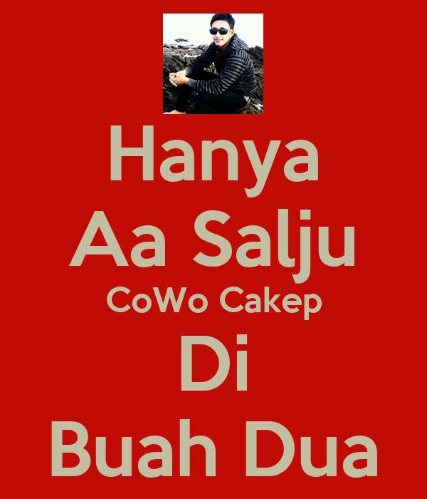 Hanya Aa Salju CoWo Cakep Di Buah Dua