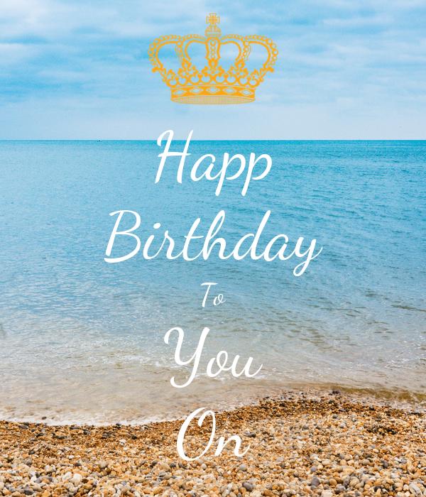 Happ Birthday To You On