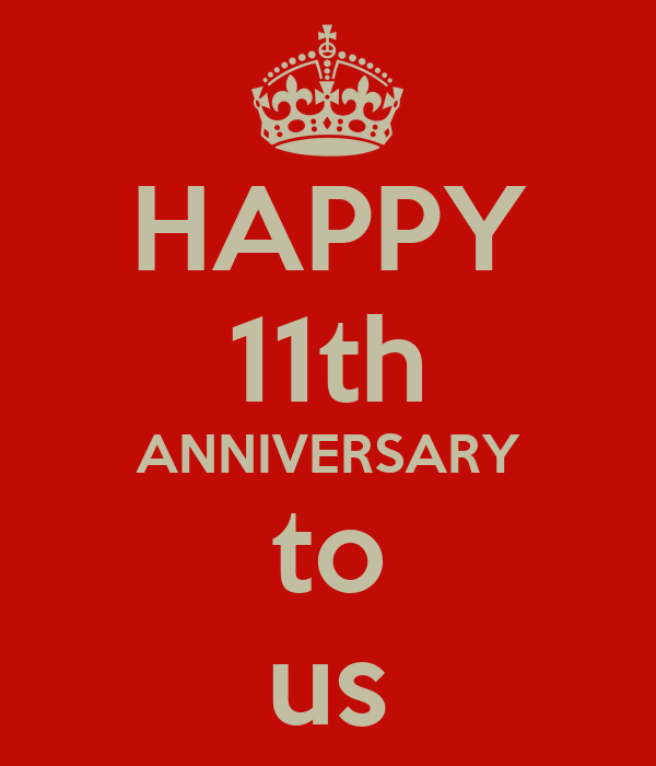 happy 11th anniversary to us poster carrie keep calm o matic