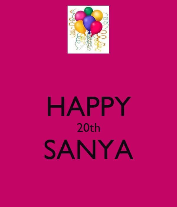HAPPY 20th SANYA