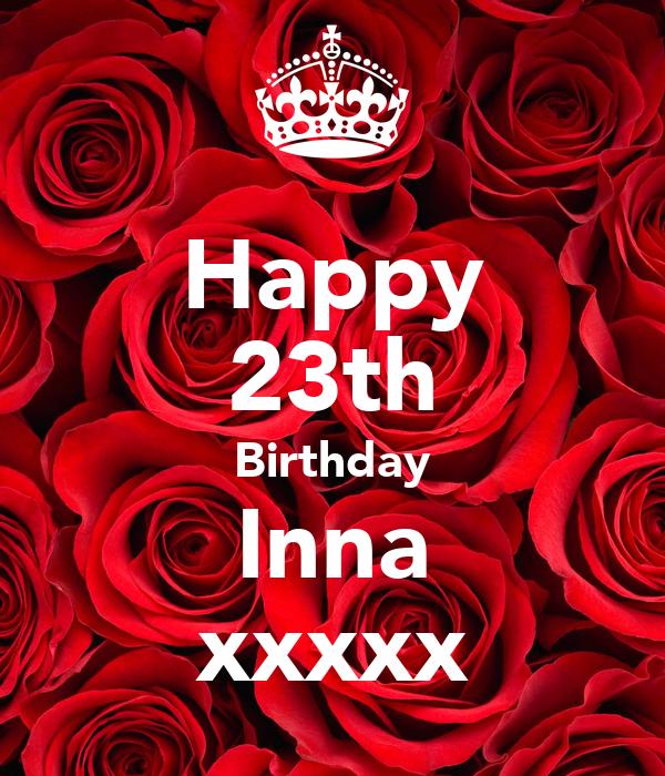 Happy 23th Birthday Inna xxxxx