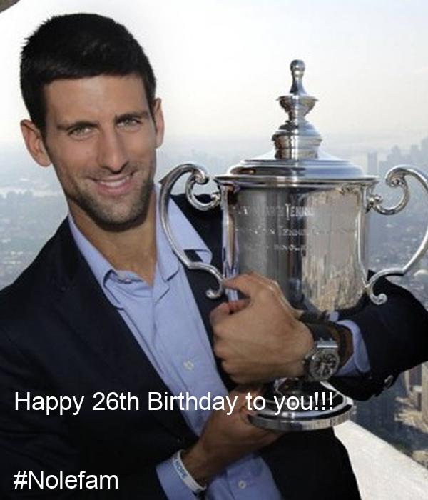 Happy 26th Birthday to you!!!  #Nolefam