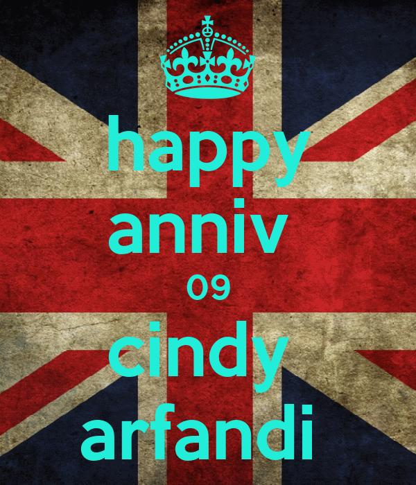 happy anniv  09 cindy  arfandi