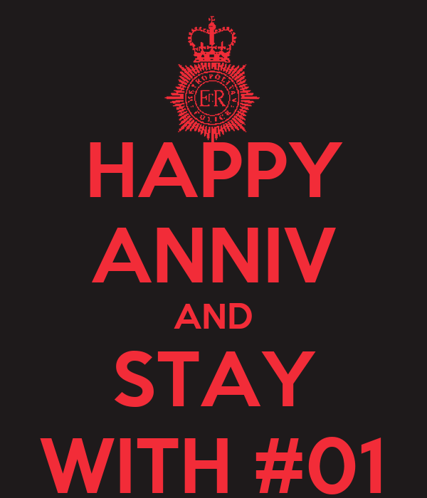 HAPPY ANNIV AND STAY WITH #01