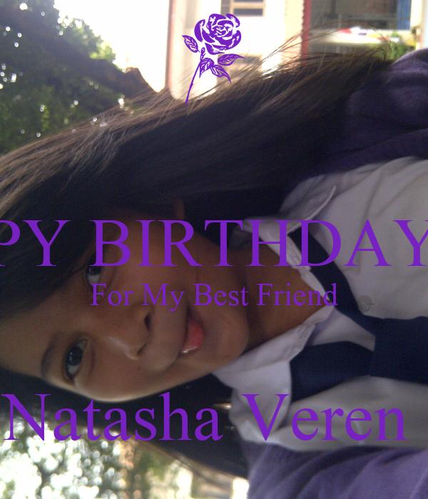 HAPPY BIRTHDAY 13th For My Best Friend  Natasha Veren
