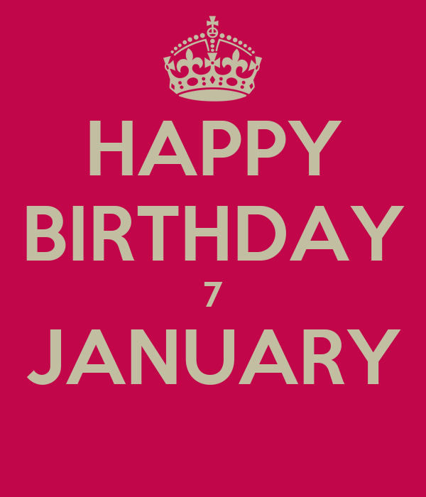 Watch - January Happy birthday pictures video