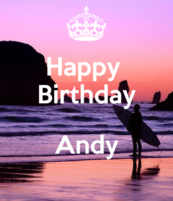 Happy Birthday Andy Poster