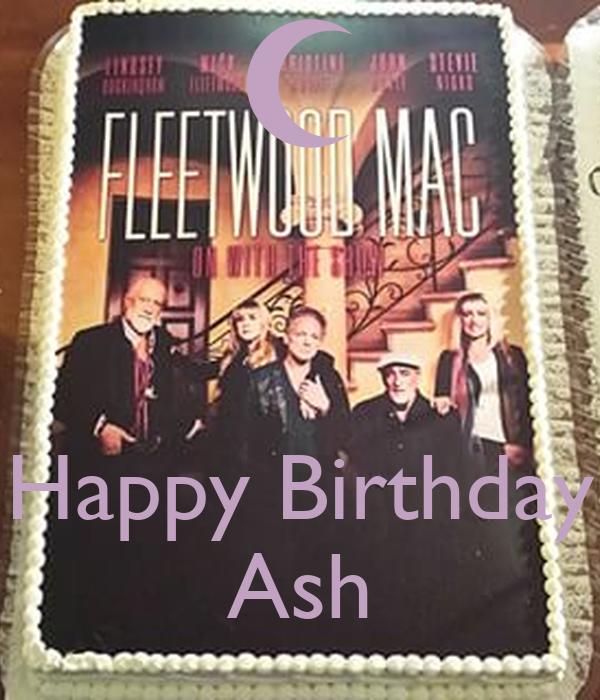Happy Birthday Ash