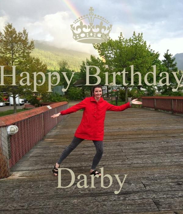 Happy Birthday    Darby