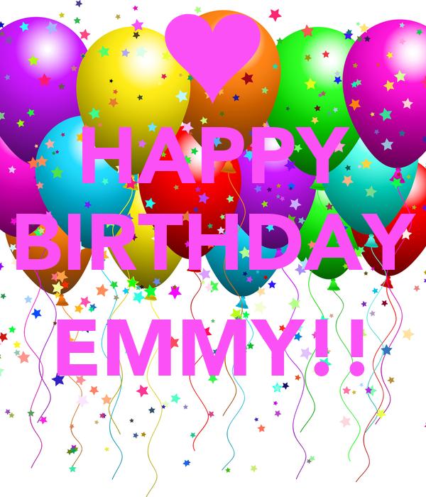 HAPPY BIRTHDAY  EMMY!!