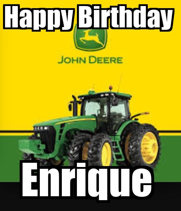 Happy Birthday  Enrique