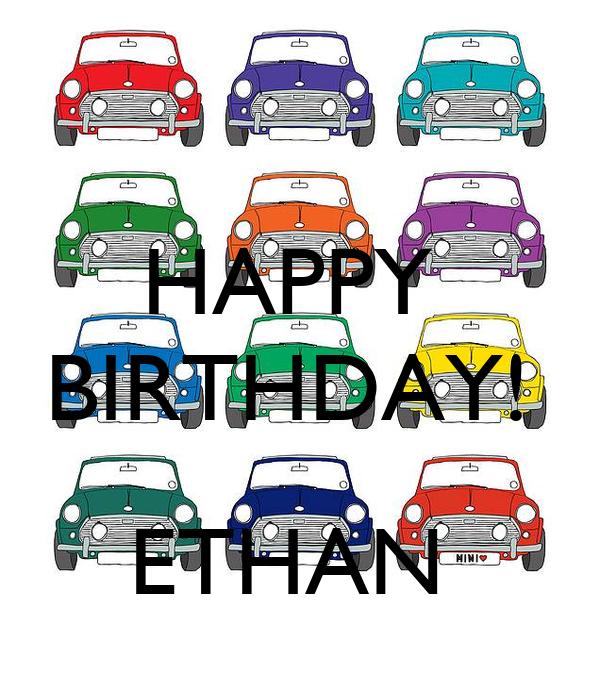 HAPPY  BIRTHDAY!    ETHAN