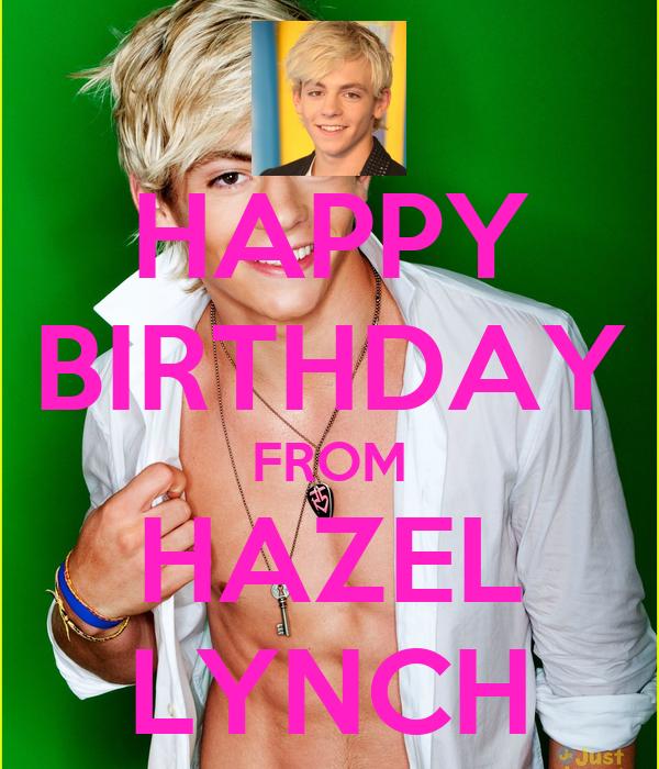 HAPPY BIRTHDAY FROM HAZEL LYNCH