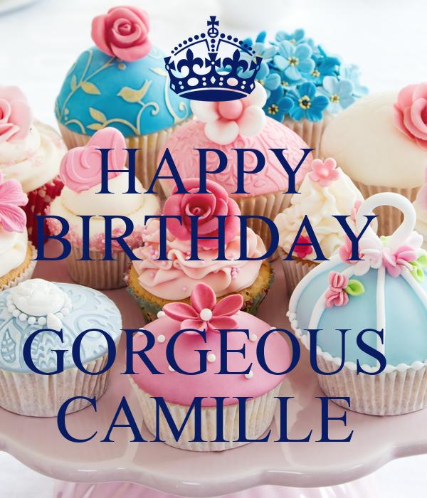 Картинки с поздравлением с днем рождения камилла, для