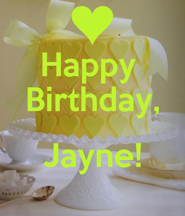 Happy  Birthday,  Jayne!
