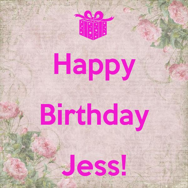 Happy Birthday Jess!