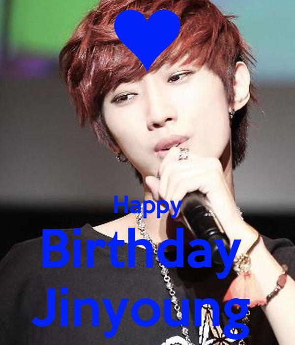 Happy Birthday  Jinyoung