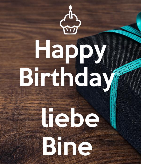 Happy Birthday   liebe Bine