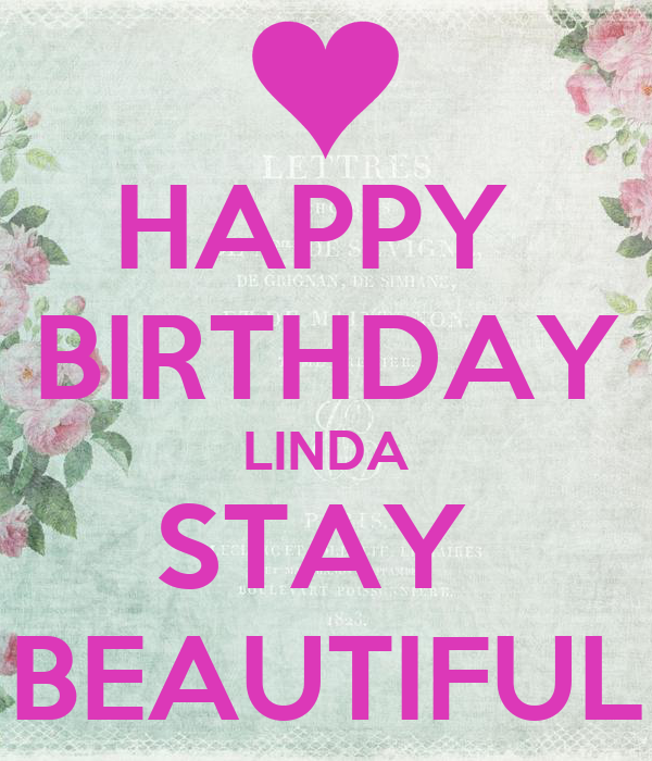 Image result for happy birthday linda