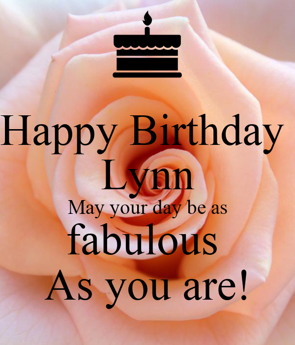 Image result for happy birthday lynn