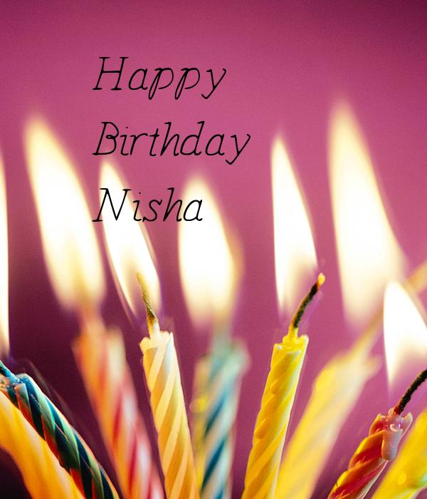 Birthday Cake Pic With Name Nisha : Happy Birthday Nisha Auto Design Tech