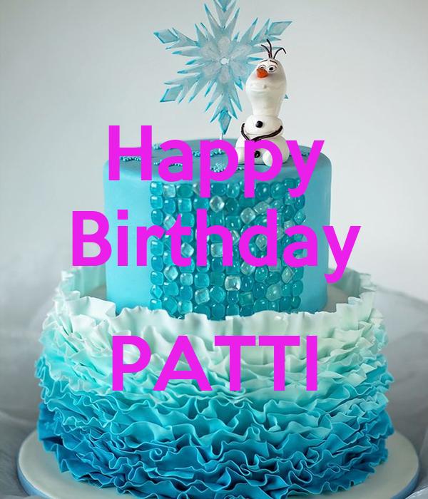 Happy Birthday Patti Poster Becky Keep Calm O Matic