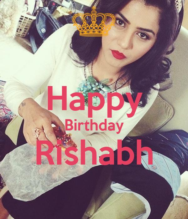 Happy Birthday Rishabh