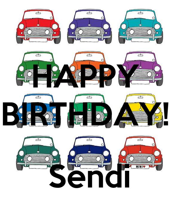 HAPPY  BIRTHDAY!    Sendi