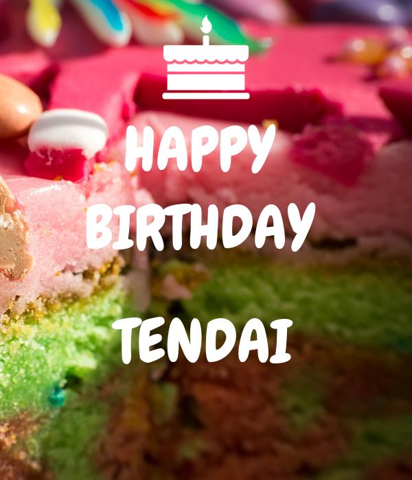 HAPPY  BIRTHDAY   TENDAI