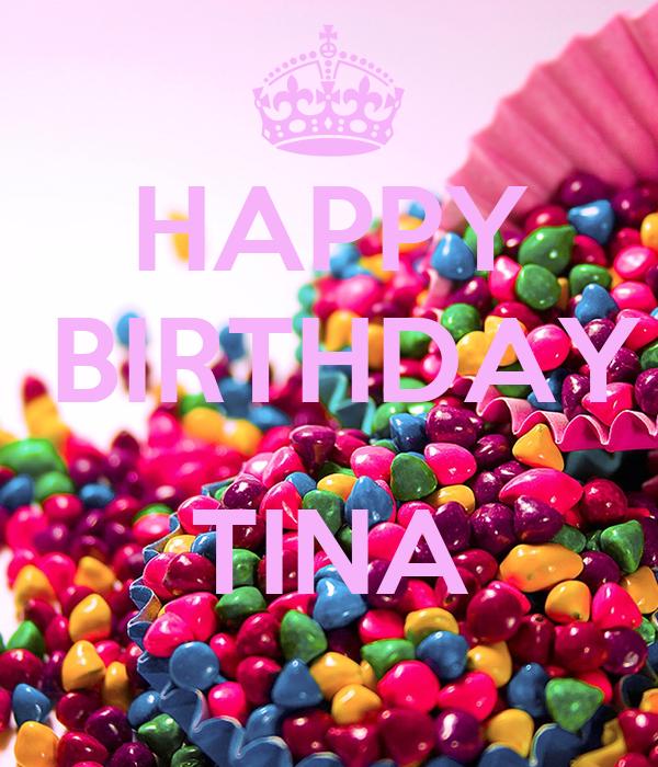 HAPPY   BIRTHDAY  TINA