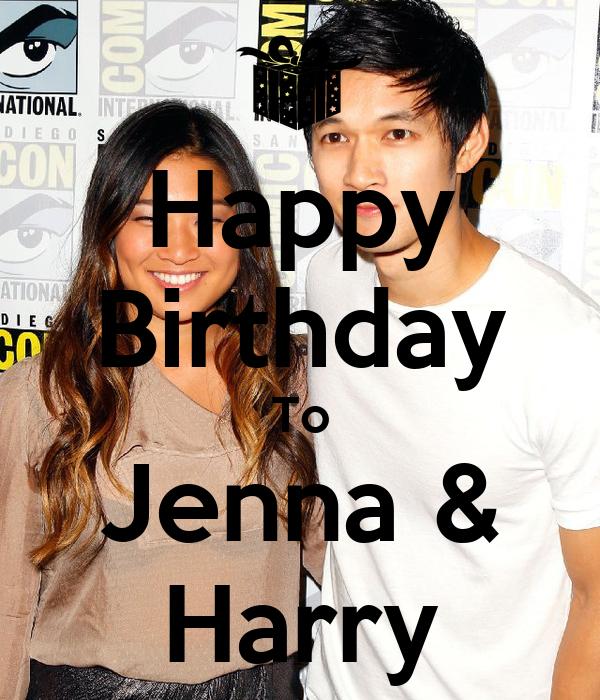 Happy Birthday To Jenna & Harry