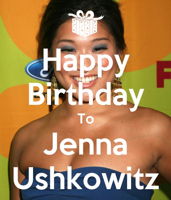 Happy Birthday To Jenna Ushkowitz