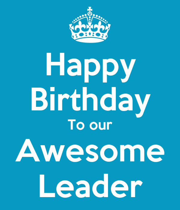 happy birthday to our awesome leader poster debbie