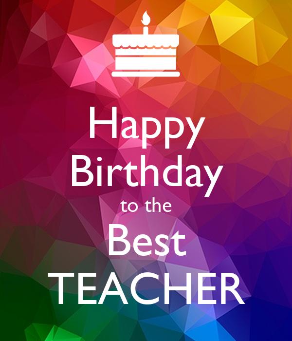 поздравление на день рождение учительнице английского знает