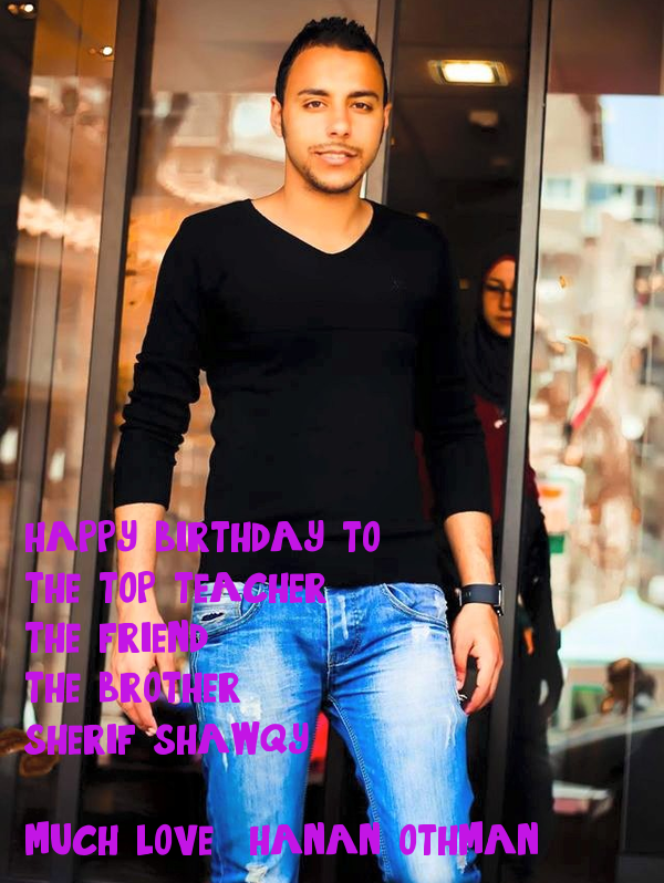 happy birthday to :