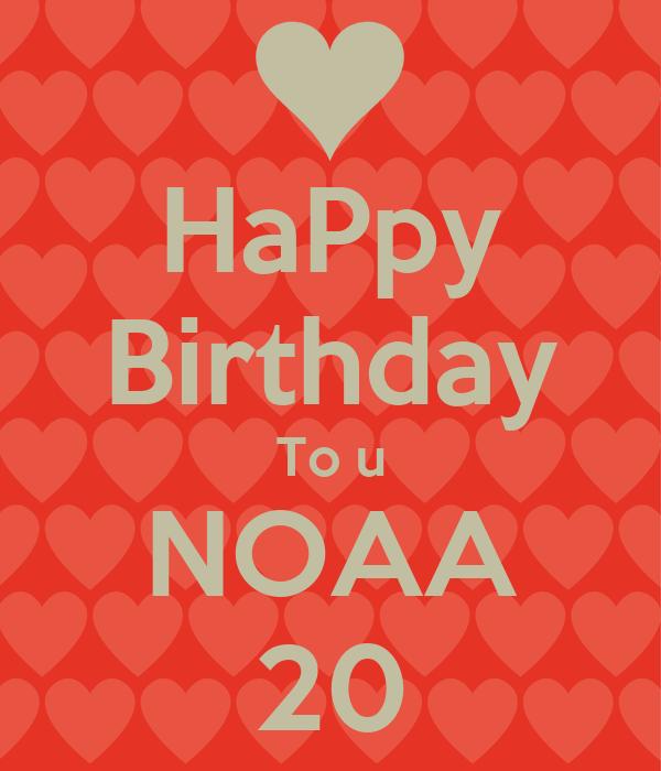 HaPpy Birthday To u NOAA 20