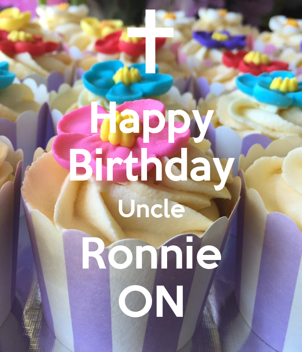 Happy Birthday Uncle Ronnie ON
