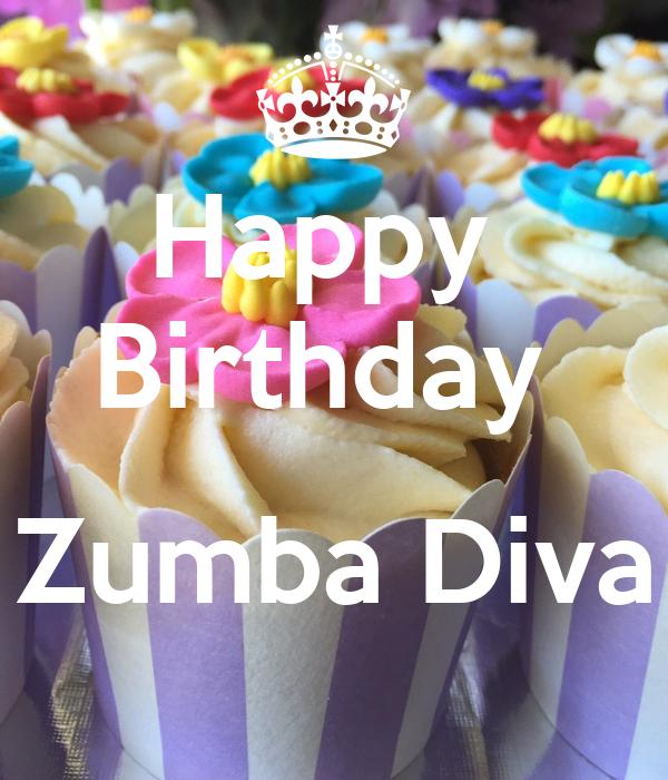 Happy  Birthday   Zumba Diva