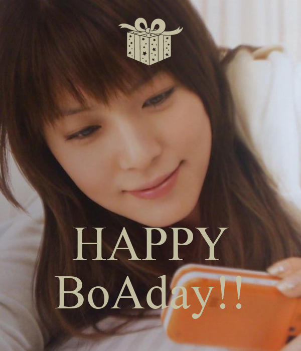 HAPPY BoAday!!