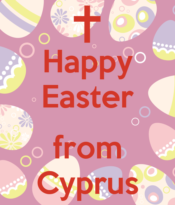 Happy Easter  from Cyprus