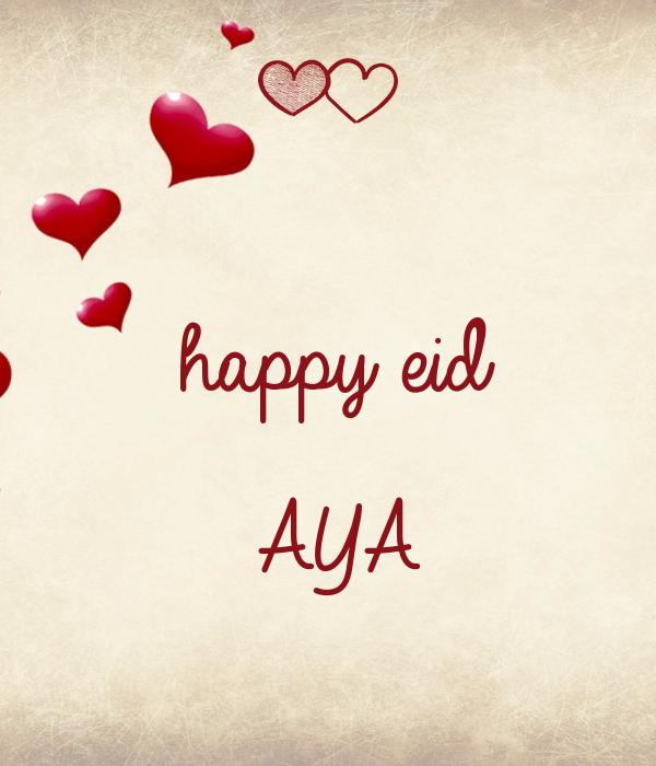happy eid  AYA