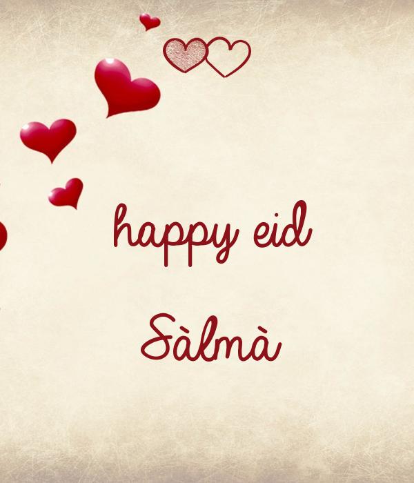 happy eid  Sàlmà
