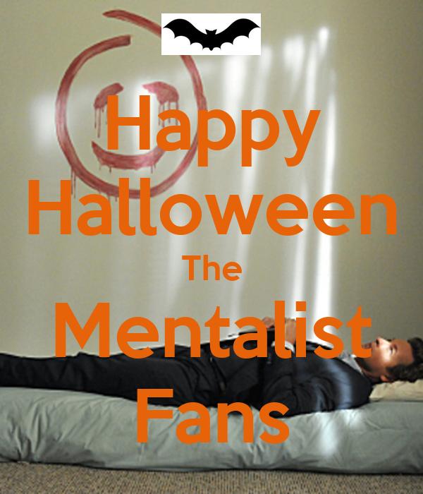 Happy Halloween The Mentalist Fans