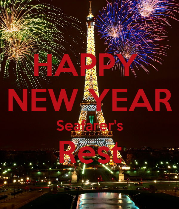 HAPPY  NEW YEAR Seafarer's Rest