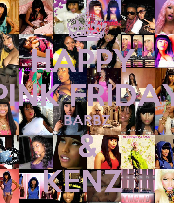 HAPPY  PINK FRIDAY BARBZ & KENZ