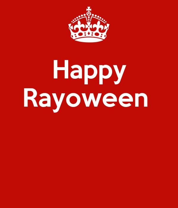 Happy Rayoween