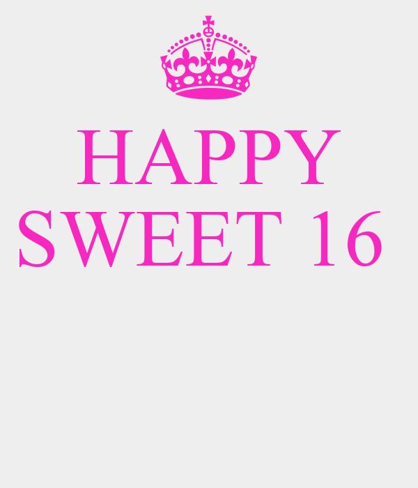 HAPPY SWEET 16