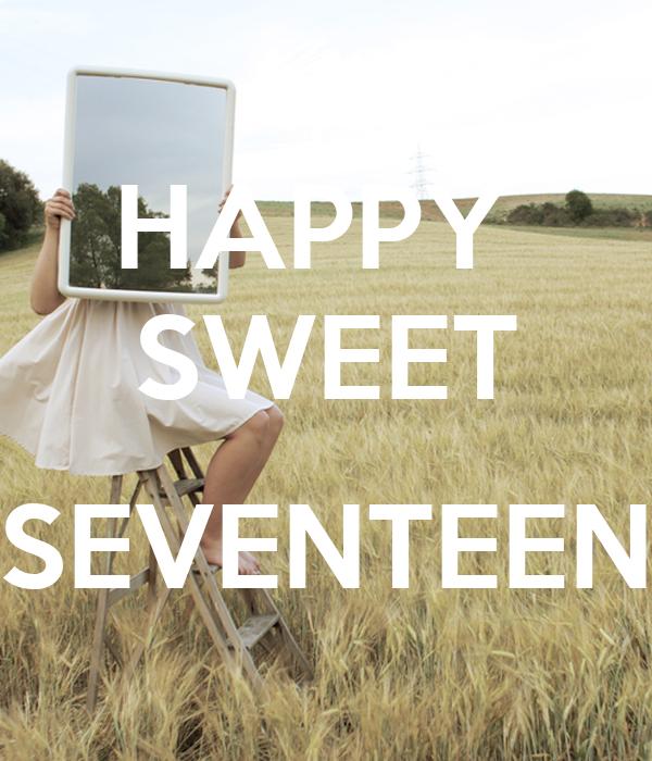 HAPPY  SWEET  SEVENTEEN